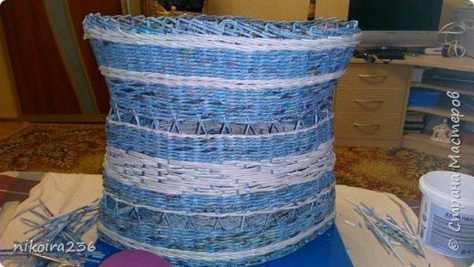 Сестра заказала корзину для белья. Размеры 35 см по бокам, высота 43 см фото 4
