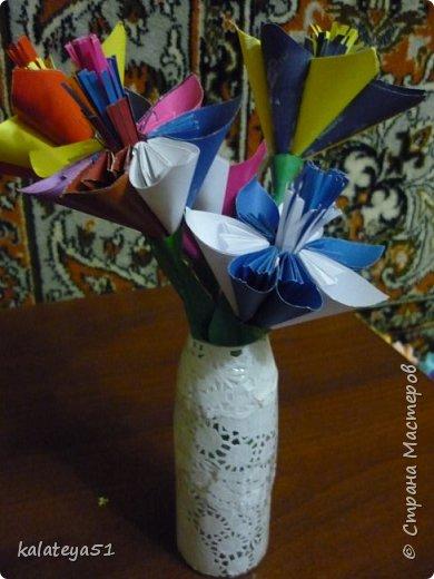 цветы из бумаги фото 1
