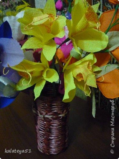 цветы из бумаги фото 4