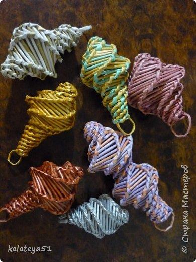 мои плетения из газет фото 5