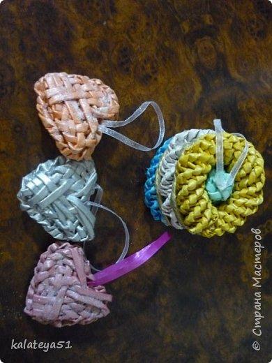 мои плетения из газет фото 7