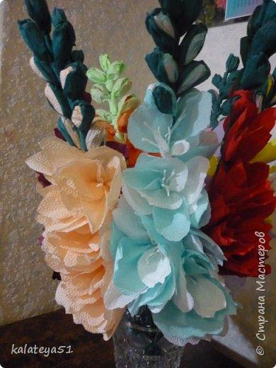 цветы из бумаги фото 6