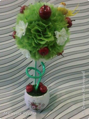 """Топиарий """" Яблоня в цвету """" фото 1"""