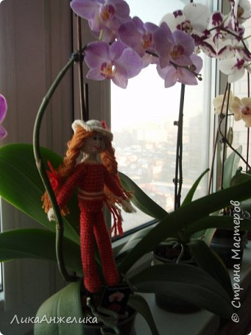 вот такой у меня получился винипушек:), его совсем легко делать, а вот с куколками посложнее фото 5