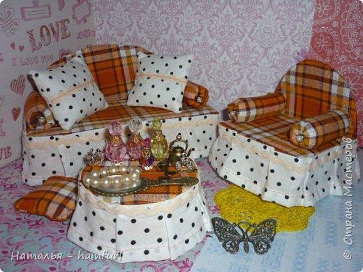 Наборы кукольной мягкой мебели фото 2