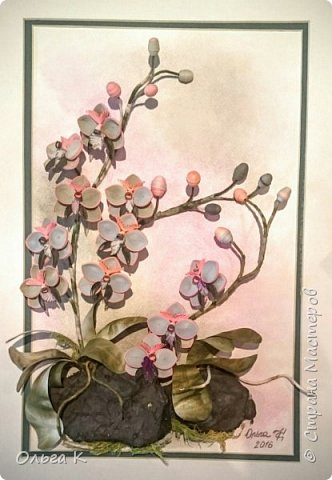Привет всем! ДРУЗЬЯ, хочу Вам показать несколько своих совсем-совсем новых работ - орхидеи и розы; а так же  работы моих учеников - взрослых, которые приходят ко мне в студию. У нас такая творческая атмосфера царит, столько идей, творчества, настроения! Приходите и Вы, двери всегда открыты, будем рады!  фото 10