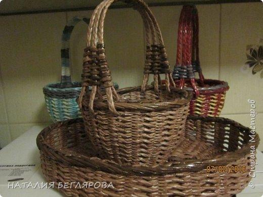 Здравствуйте!       Сегодня показываю плетенки выполненные тем же узором,что и предыдущие. А судить Вам. фото 1