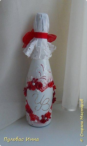 Представляю очередной свадебный наборчик. И опять в красном цвете. Наверное это очень модный в этом сезоне цвет)))) фото 4
