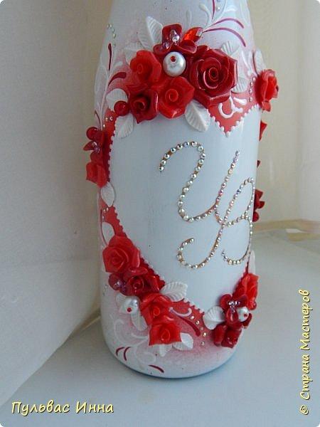 Представляю очередной свадебный наборчик. И опять в красном цвете. Наверное это очень модный в этом сезоне цвет)))) фото 11