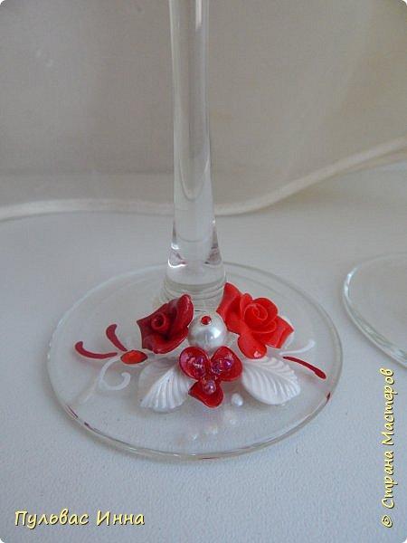 Представляю очередной свадебный наборчик. И опять в красном цвете. Наверное это очень модный в этом сезоне цвет)))) фото 7