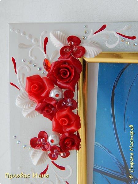 Представляю очередной свадебный наборчик. И опять в красном цвете. Наверное это очень модный в этом сезоне цвет)))) фото 9
