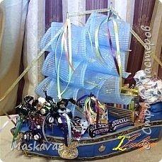 Корабль для мальчика на день Рождения на 7 лет.