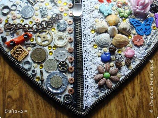 Здравствуйте уважаемые жители страны.Очень понравились сердечки (http://stranamasterov.ru/node/856811?c=favorite)  (http://stranamasterov.ru/node/871647?c=favorite).Под впечатлением у меня получилось такое сердце. фото 11