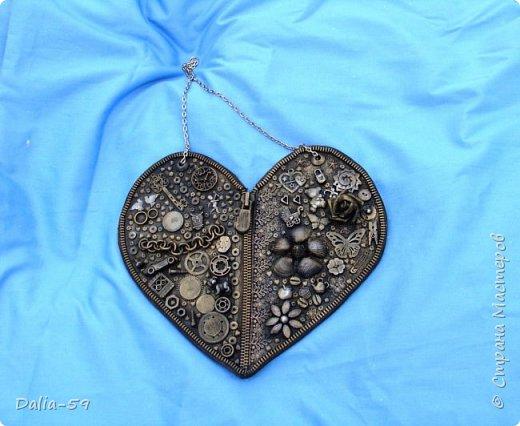 Здравствуйте уважаемые жители страны.Очень понравились сердечки (http://stranamasterov.ru/node/856811?c=favorite)  (http://stranamasterov.ru/node/871647?c=favorite).Под впечатлением у меня получилось такое сердце. фото 2