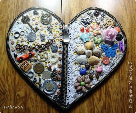Здравствуйте уважаемые жители страны.Очень понравились сердечки (http://stranamasterov.ru/node/856811?c=favorite)  (http://stranamasterov.ru/node/871647?c=favorite).Под впечатлением у меня получилось такое сердце. фото 9