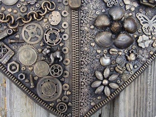 Здравствуйте уважаемые жители страны.Очень понравились сердечки (http://stranamasterov.ru/node/856811?c=favorite)  (http://stranamasterov.ru/node/871647?c=favorite).Под впечатлением у меня получилось такое сердце. фото 5