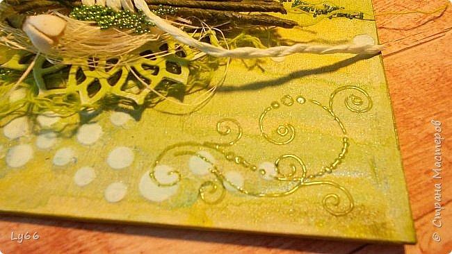 Приветик, дорогие мои! Я скоренько - покажу новый тэжик и бегу дальше) Сделала я его к очередному этапу СП , о котором писала http://eleele-handmade.blogspot.com.by/2016/01/8-1.html. Цветок этапа - подснежник. Сделала их из фома, не очень довольна тем, что получилось(((  фото 6