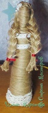 Мои первые шпагатные куколки . Продолжаю делать работы для выставки ,вот что получилось. фото 2
