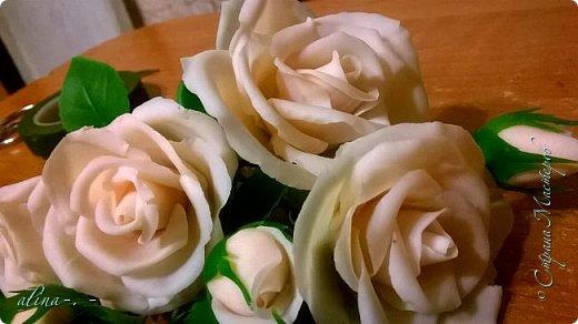 """Снова попросили корзинку.Заказчик захотел 25 роз на корзинке.недавно сварили новую морилку """"дуб"""".Заодно опробовали. фото 6"""