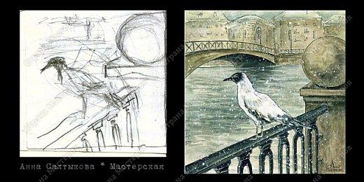 Белые крылья. Серия иллюстраций. фото 9