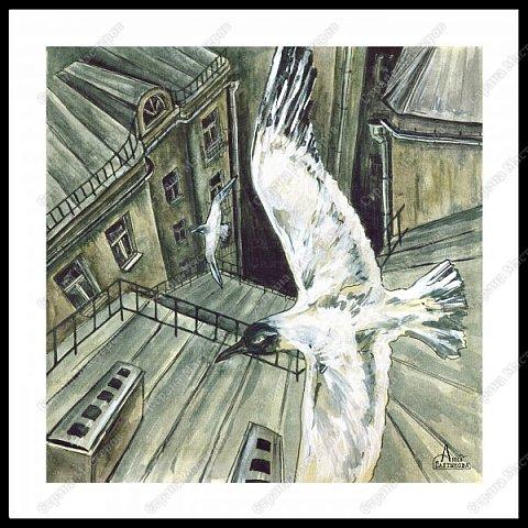 Белые крылья. Серия иллюстраций. фото 4
