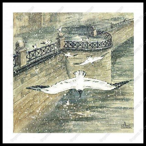 Белые крылья. Серия иллюстраций. фото 5