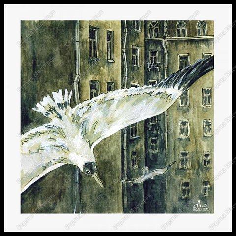 Белые крылья. Серия иллюстраций. фото 6