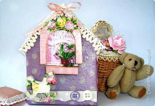 Коробочка Magic box. Сделана в подарок маме. фото 6
