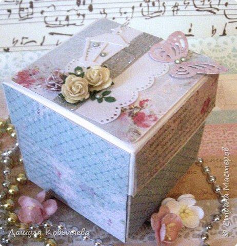Коробочка Magic box. Сделана в подарок маме. фото 1