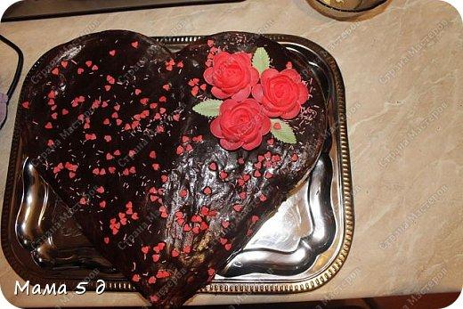 торт для любящих сердец !