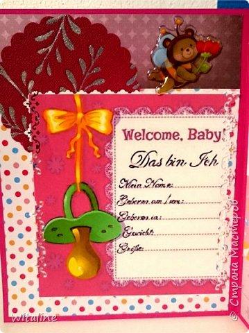 открытка на день рождение, 16x20, это моя 3-тия фото 7