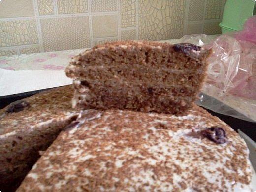 Вот такой неожиданно вкусный тортик! фото 1