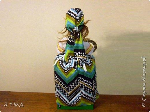 Бабка Петровишна продолжает серию бабок Ежек сшитых из текстиля. фото 4