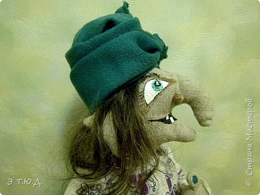 Кормилица Макоша есть пятая бабка Ежка, сшитая как кукла на чайник.  фото 5