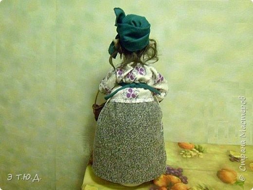Кормилица Макоша есть пятая бабка Ежка, сшитая как кукла на чайник.  фото 4