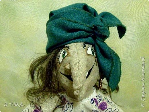 Кормилица Макоша есть пятая бабка Ежка, сшитая как кукла на чайник.  фото 6
