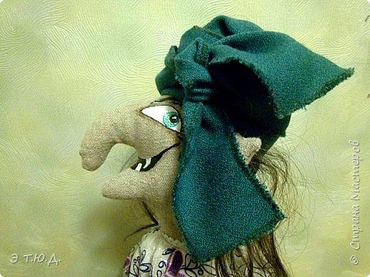 Кормилица Макоша есть пятая бабка Ежка, сшитая как кукла на чайник.  фото 7