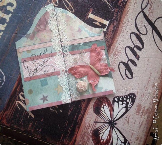 """""""Двери и бабочки"""". Нежный скрапбукинг. фото 1"""