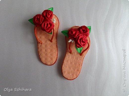 Очень понравились пляжные тапочки Корнеевой Ольги http://stranamasterov.ru/node/752620?c=favorite и захотелось сделать похожее фото 5