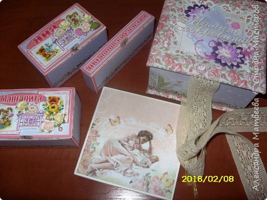 Коробочка для мамы девочек фото 9