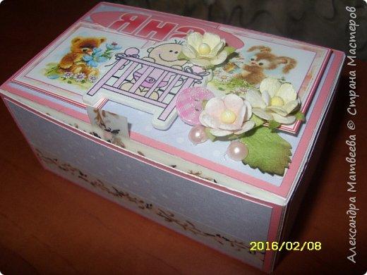 Коробочка для мамы девочек фото 8