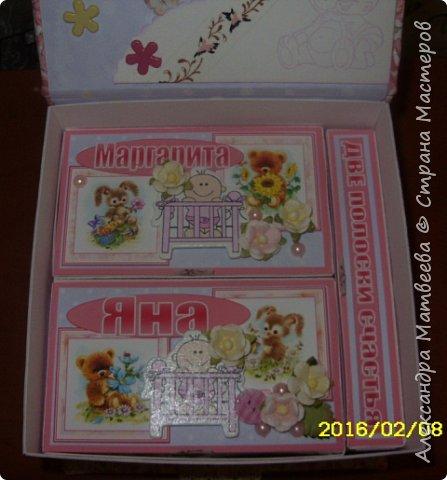 Коробочка для мамы девочек фото 7