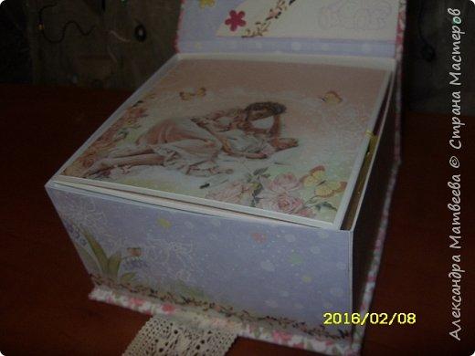 Коробочка для мамы девочек фото 3