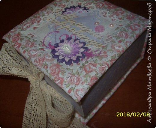 Коробочка для мамы девочек фото 2