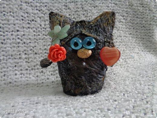 котик с сердцем фото 1