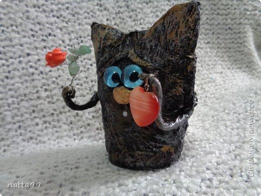 котик с сердцем фото 3