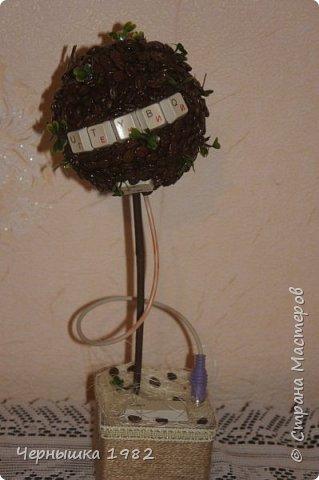 Я давно мечтала купить себе орхидею из бисера, но решила попробовать сделать сама, хотя долго боялась браться. Думала ничего не получится. А теперь, наоборот, заразилась этим рукоделием и хочется попробовать еще сплести другие виды деревьев и цветов.  А вот и моя первая ОРХИДЕЙКА, правда получилось маленькой)  фото 3