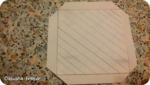 Мастер класс по изготовлению большой коробочки можно найти здесь: http://www.wonderful-day.ru/skoro-svadba/kladovaya-sekretov/sunduchok-dlya-deneg/39-2-master-klass-po-skrapbukingu-korobochka-dlya-deneg. Эта коробочка рассчитана на 27 шоколадок. Для изготовления коробочки на 12 шоколадок подготовьте : Из дизайнерского картона (цвет выбираем по своему вкусу) квадрат 7,5 х 7,5 см 2штуки квадрат 9,5 х 9,5 см 2штуки прямоугольник 6,8 х 19 см 1 штука квадрат 14,8 х 14,8 см 1 штука  фото 6