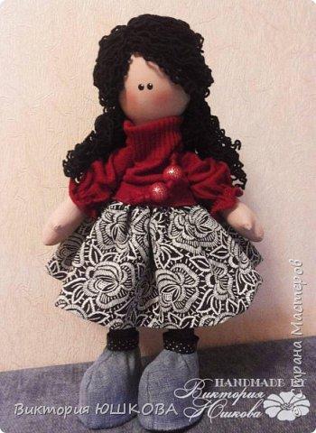 А это мое новое увлечение - текстильные куклы. Я их уже сделала много и в разных стилях и техниках.вот теперь отчет о проделанной работе выкладываю для вас, дорогие жители Страны) В этом блоге куколки большеголовки. фото 4