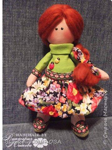А это мое новое увлечение - текстильные куклы. Я их уже сделала много и в разных стилях и техниках.вот теперь отчет о проделанной работе выкладываю для вас, дорогие жители Страны) В этом блоге куколки большеголовки. фото 7
